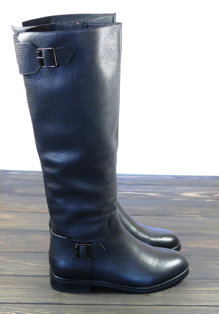 Женские кожаные сапоги зимние Fabio Monelli