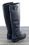 Женские кожаные сапоги зимние Fabio Monelli, фото 3
