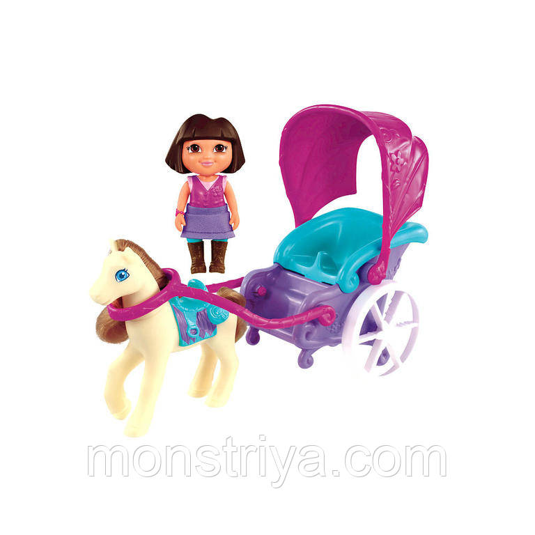 Кукла Dora с волшебной каретой