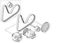 Ремни + ролики + натяжные механизмы генератора