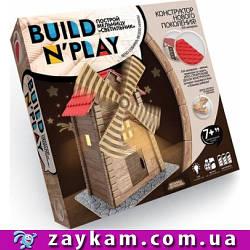 """Конструктор нового покоління """"BUILDNPLAY"""" МЛИН, BNP-01-03, млин, світиться, м'які деталі, в коробці"""