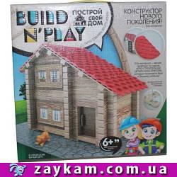 """Конструктор нового покоління """"BUILDNPLAY"""" БУДИНОК, BNP-01-01, будинок, м'які деталі, в коробці"""