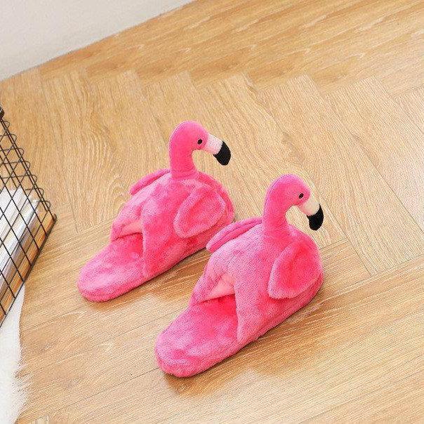 Комнатные тапочки Фламинго