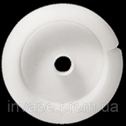 Белая пластиковая катушка 70мм, фото 2