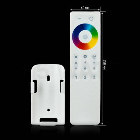 Пульт для контроллера RGBW C REM 2.4g Touch-3 zone, фото 2