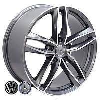 Литые диски Zorat Wheels BK690 R17 W7.5 PCD5x112 ET42 DIA66.6 GP