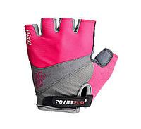 Велорукавички PowerPlay 5277 Рожевий XS