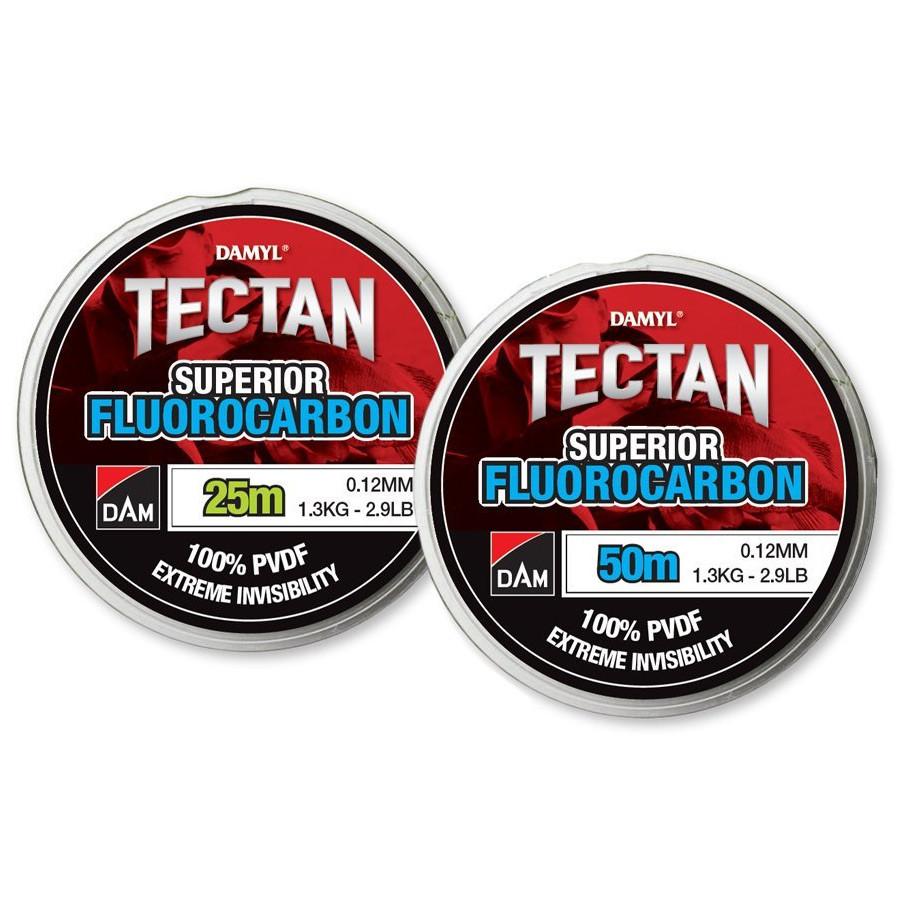 Леска DAM Tectan Superior Fluorocarbon NEW 0,40мм 25м 9,9кг (прозрачная)
