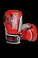 Боксерські рукавиці PowerPlay 3005 Червоні PU 14 oz, фото 1