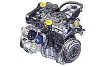 Дизельный двигатель 1.5 dci (k9k)