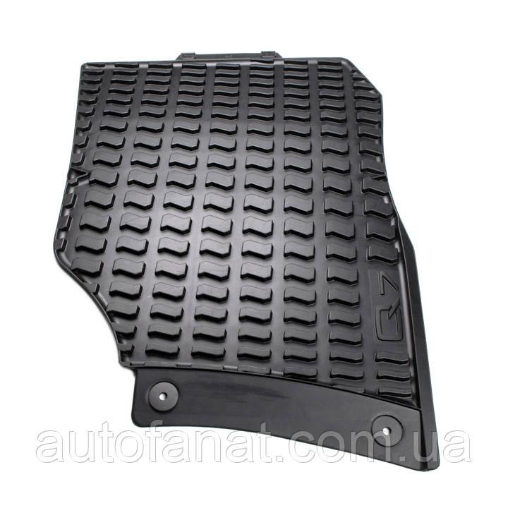 Резиновые коврики Audi Q7 (4L) черные