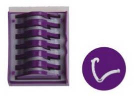 Полимерные клипсы гемолок, большие (L)
