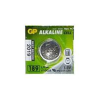 Батарейка GP Alkaline 1.5V V10GA, LR54 (LR1130), 189 China