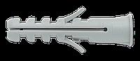 Дюбель универсальный распорный с бортиком 6х30 нейлон, уп. 100шт