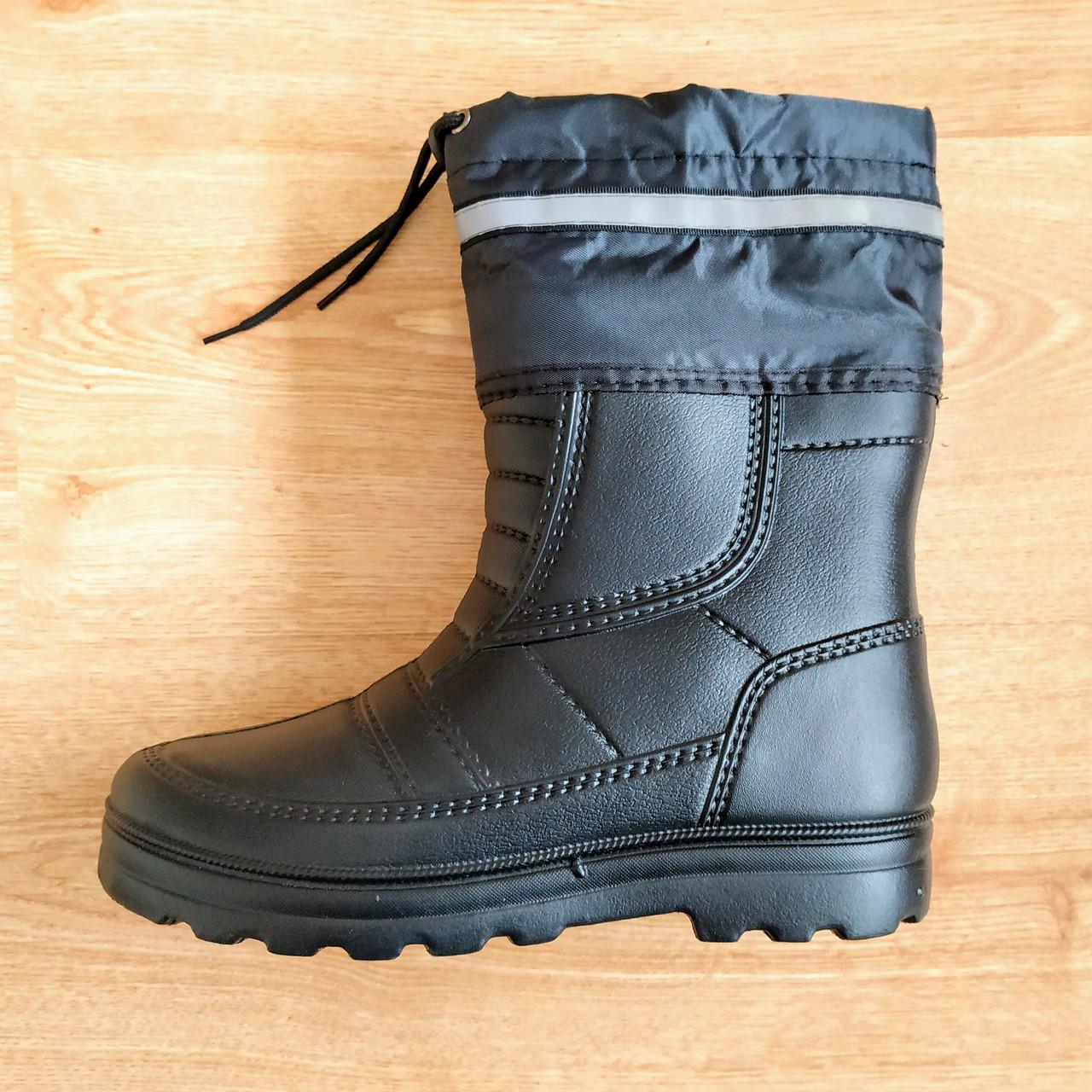 Чоловічі зимові гумові чоботи Krok