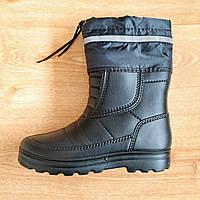 """Чоловічі зимові гумові чоботи Krok р. 41-45. Мужские резиновые зимние ботинки """"КРОК"""""""