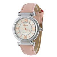 Часы женские наручные Geneva Wish Розовая Пудра 129-2