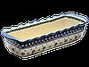 Керамическая форма для выпечки и запекания прямоугольная большая 40 х 16 Browallia