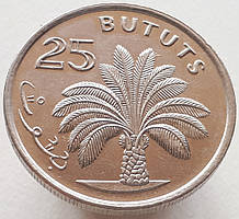 Гамбия 25 бутут 1971