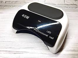 LED лампа Professional Nail 48W с дисплеем
