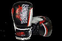 Боксерські рукавиці PowerPlay 3005 Чорні PU 16 oz, фото 1