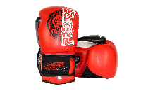 Боксерські рукавиці PowerPlay 3006 Червоні PU 14 oz, фото 1