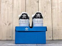 """Зимние кроссовки на меху Adidas Superstar """"White/Black"""" ( Белые / Черные ), фото 2"""