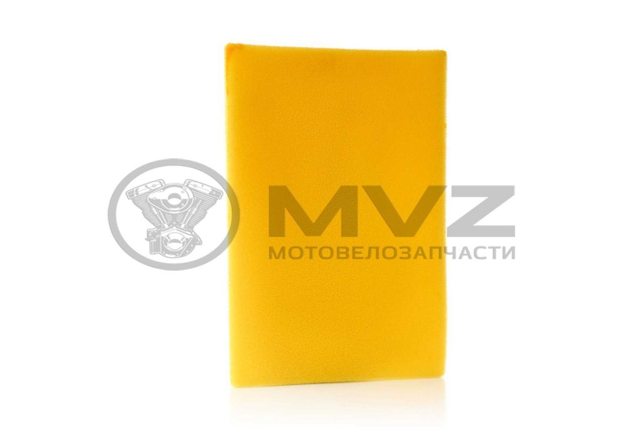 Фильтр воздушный  заготовка  300-250mm  поролон, с пропиткой, желтый