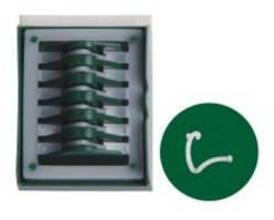 Полимерные клипсы гемолок, средне-большие (ML)