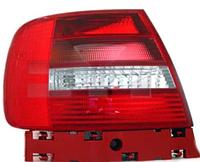AUDI A4 SEDAN Задняя фара Левая (Указатель поворота белый, красное стекло)  12.99-09.01
