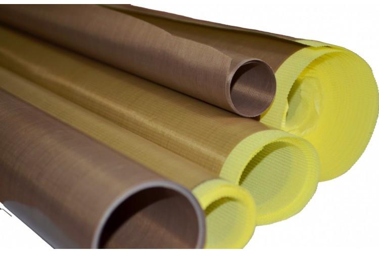 Тефлоновая Ткань Для Выпечки Hualian Machinery Group 250 мкм * 1000 мм На Клеевой Основе
