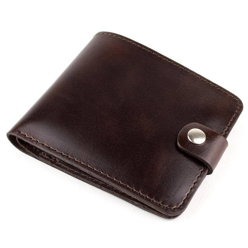 Подарочный набор №3 (коричневый): портмоне П1 + картхолдер
