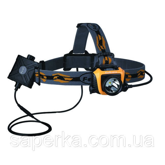 Купить Налобный Фонарь Fenix HP15 XM-L2,желтый