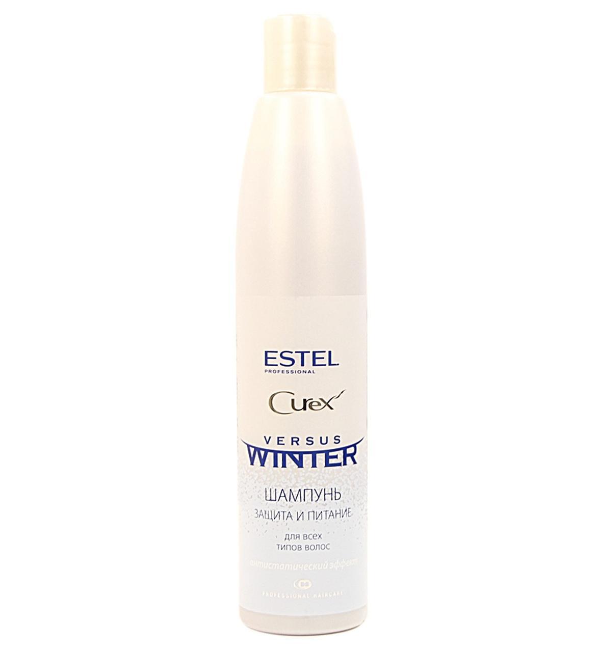 Шампунь зимняя защита для волос 300 мл Estel Professional Curex Versus Winter