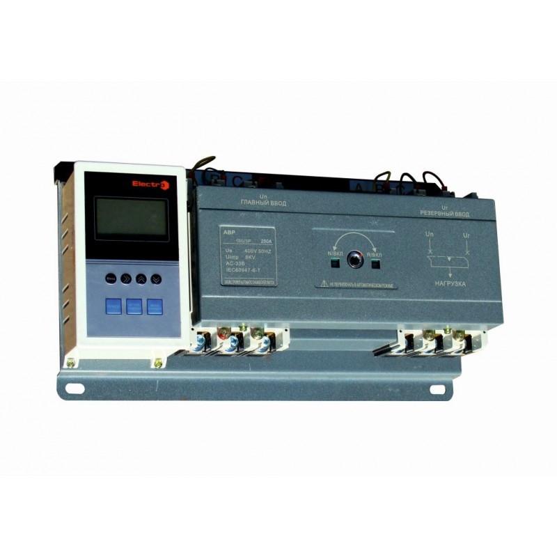 Устройство автоматического ввода резерва ВА77-1-250,   2 х 3 П  160А  Icu 25кА    380В