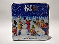 """JAF """" Winter Wonderland"""", черный чай, 40 г крупный лист + 40 г средний лист, ж/б"""