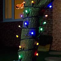 Уличная гирлянда Нить LED 100 Цвет: Мульти 10 метров