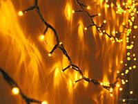 Уличная гирлянда Нить LED 100 Цвет: Желтый 10 метров