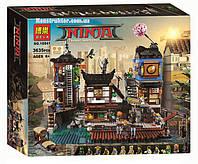 "Конструктор Bela 10941 ""Порт Ниндзяго Сити"" 3635 деталей. Аналог Lego Ninjago 70657"