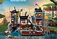 "Конструктор Bela 10941 ""Порт Ниндзяго Сити"" 3635 деталей. Аналог Lego Ninjago 70657, фото 2"
