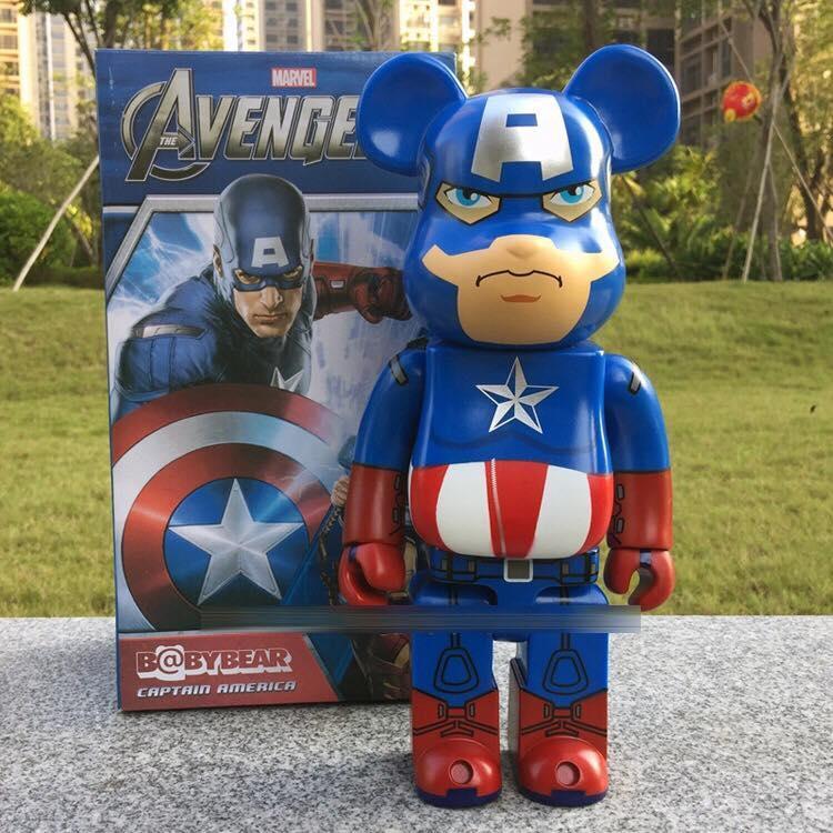 Фігурка Капітан Америка Bearbrick 400 %