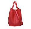 Сумка женская шоппер с кошельком Melanie Красный, фото 4