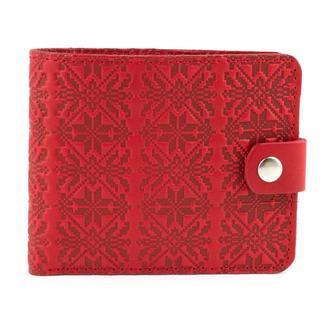 Подарочный набор №8 (красный): портмоне П1 + ключница