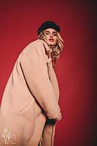 Модная женская шуба из экомеха oversize, фото 3