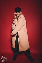 Модная женская шуба из экомеха oversize, фото 2