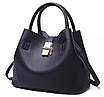 Женская сумка классическая с кошельком Melanie Черный, фото 2