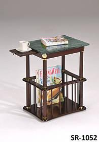 Кофейный столик SR-1052 с мраморной столешницей