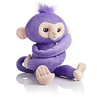 Мягкая интерактивная обезьянка-обнимашка Кики, Фингерлингс