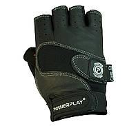 Рукавички для пауерліфтингу PowerPlay 1552 Чорний, фото 1