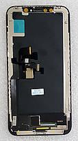 Модуль (сенсор+дисплей) для Apple Iphone X чорний, фото 3